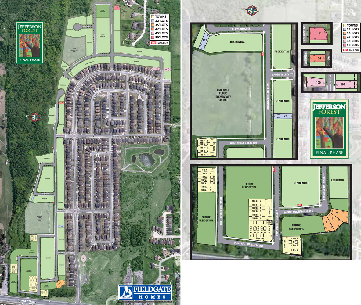 Jefferson Forest Site Plan